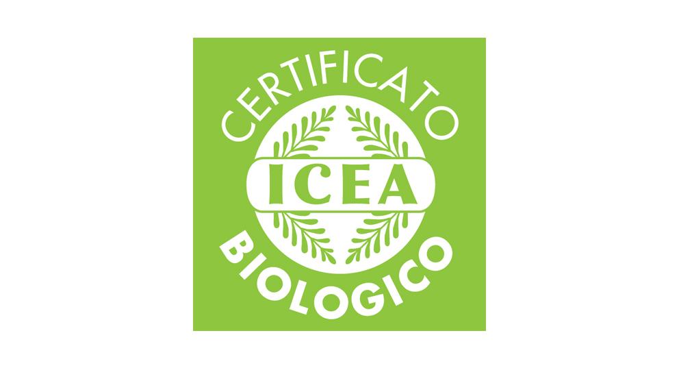 logo biologico ICEA certificato