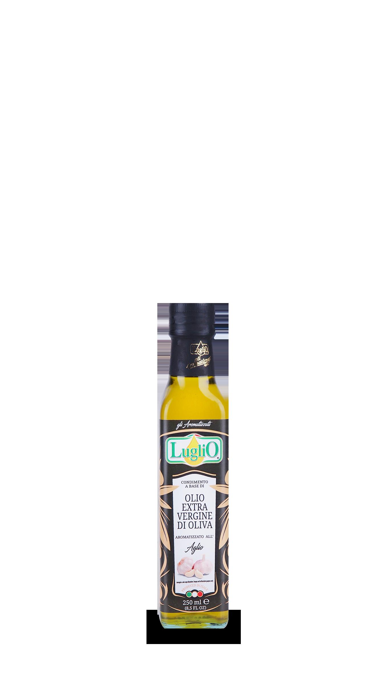 Olio Luglio aromatizzato aglio 250ml