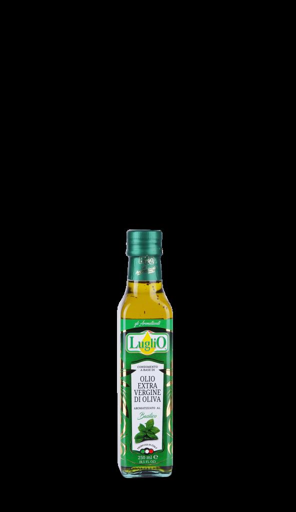 Olio Luglio aromatizzato basilico 250ml