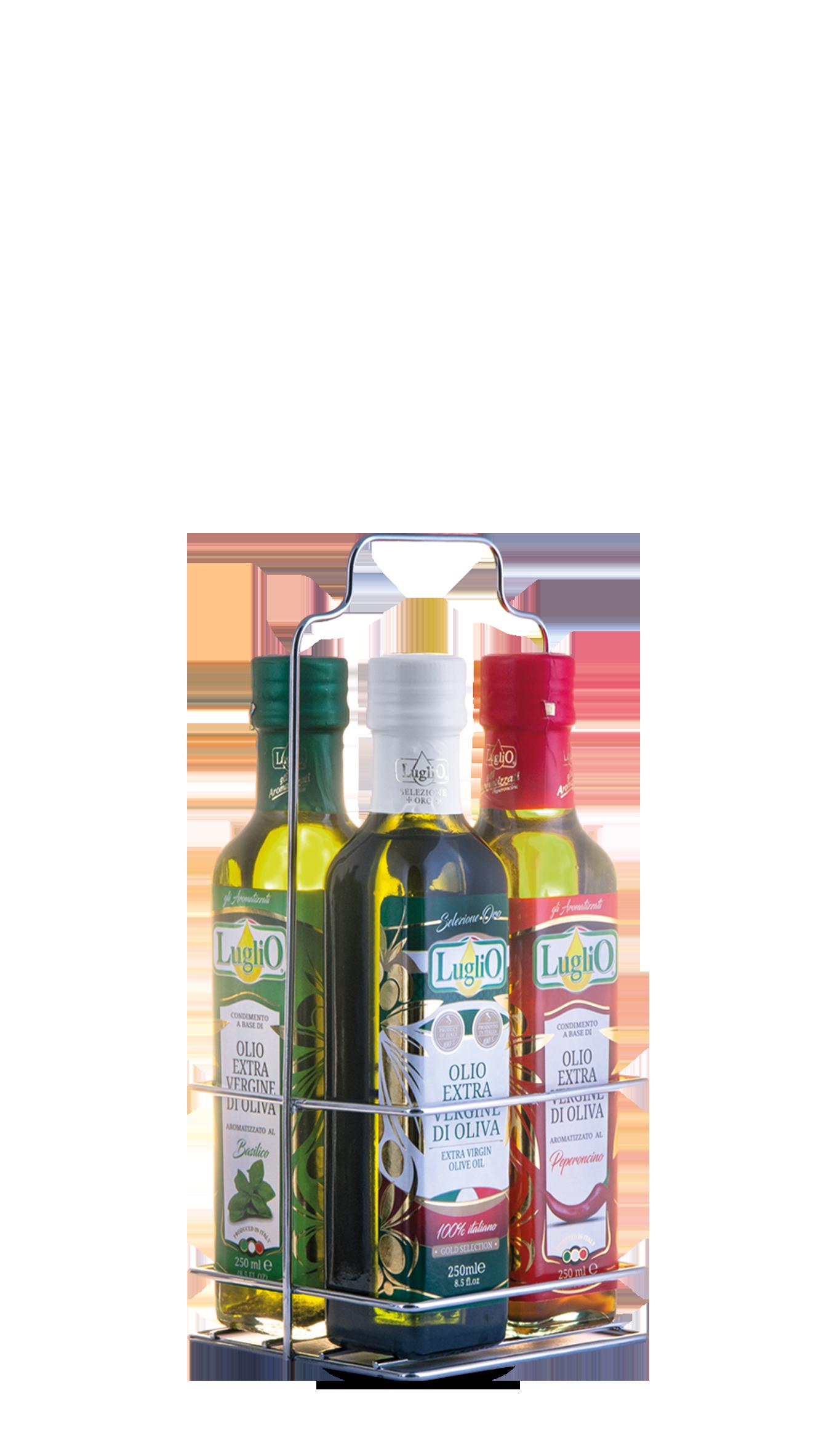 Olio Luglio aromatizzato blister 250ml