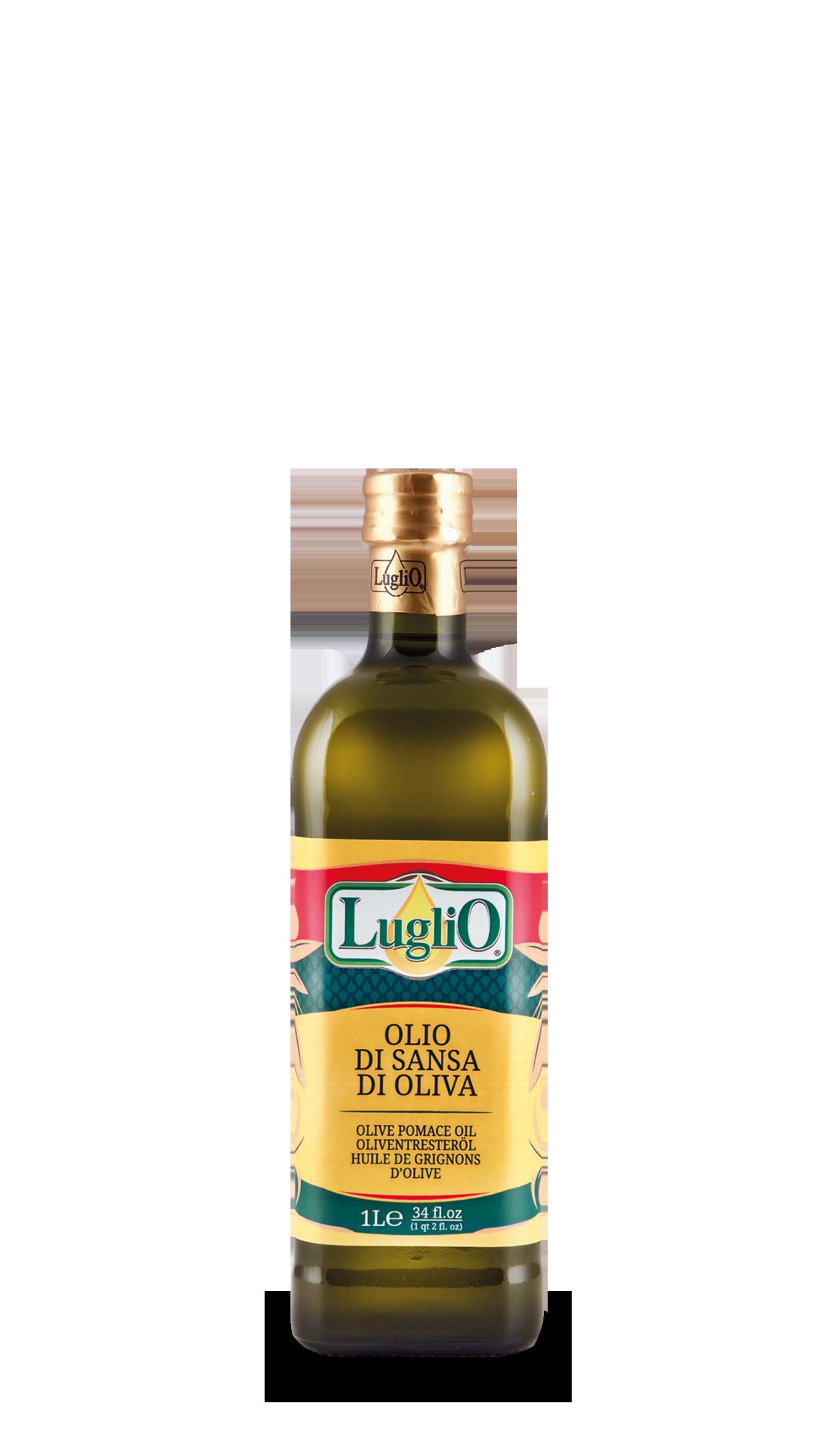 Olio Luglio olio di sansa 1L in bottiglia di vetro