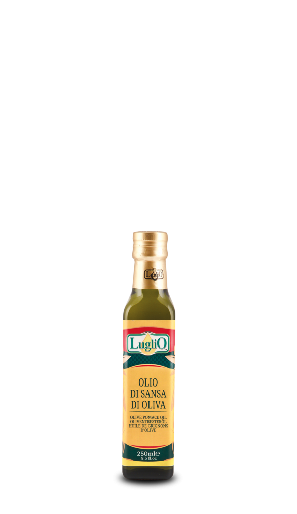 Olio Luglio olio di sansa 250ml in bottiglia di vetro