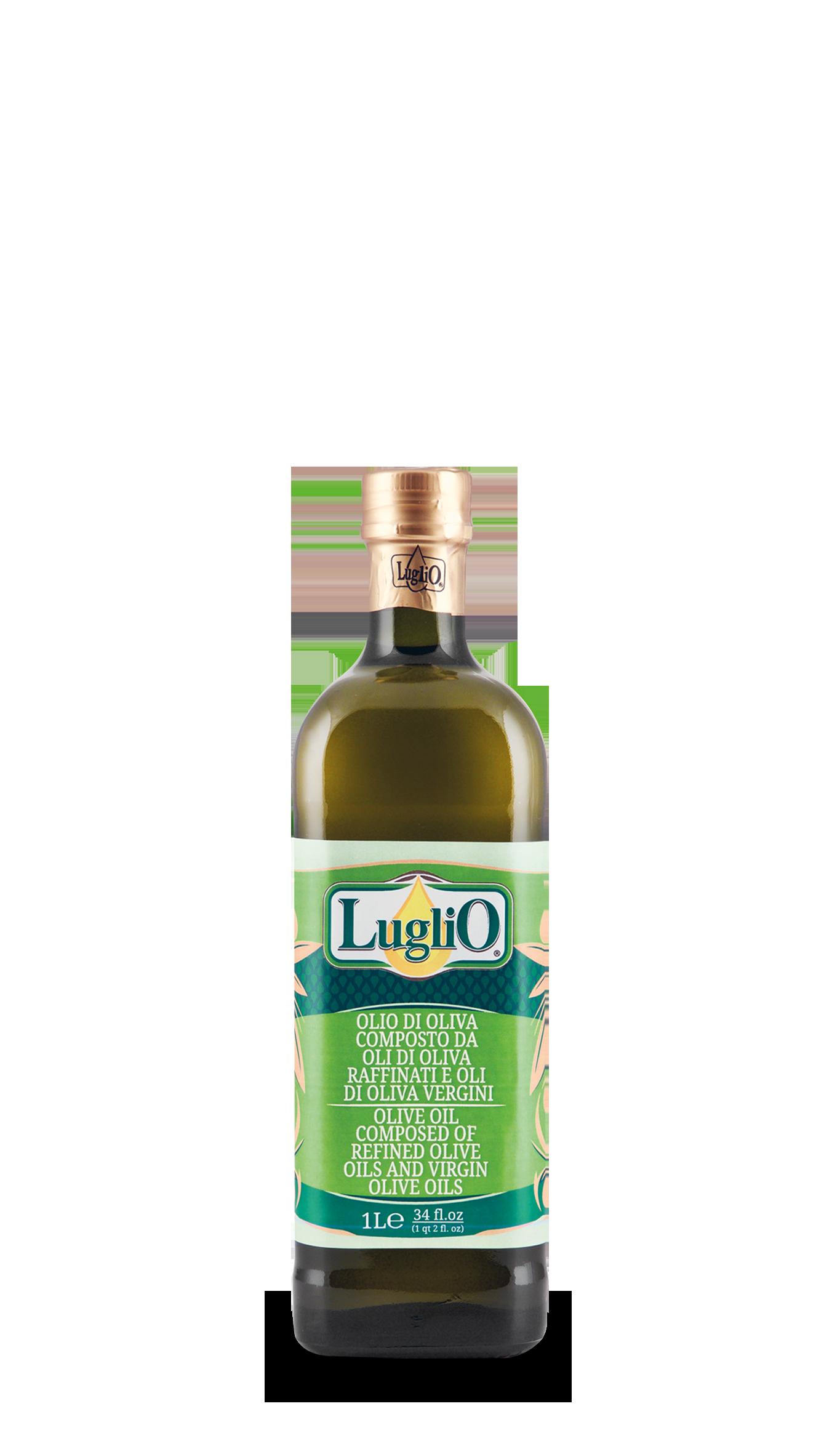 Olio Luglio olio d'oliva 1L in bottiglia di vetro