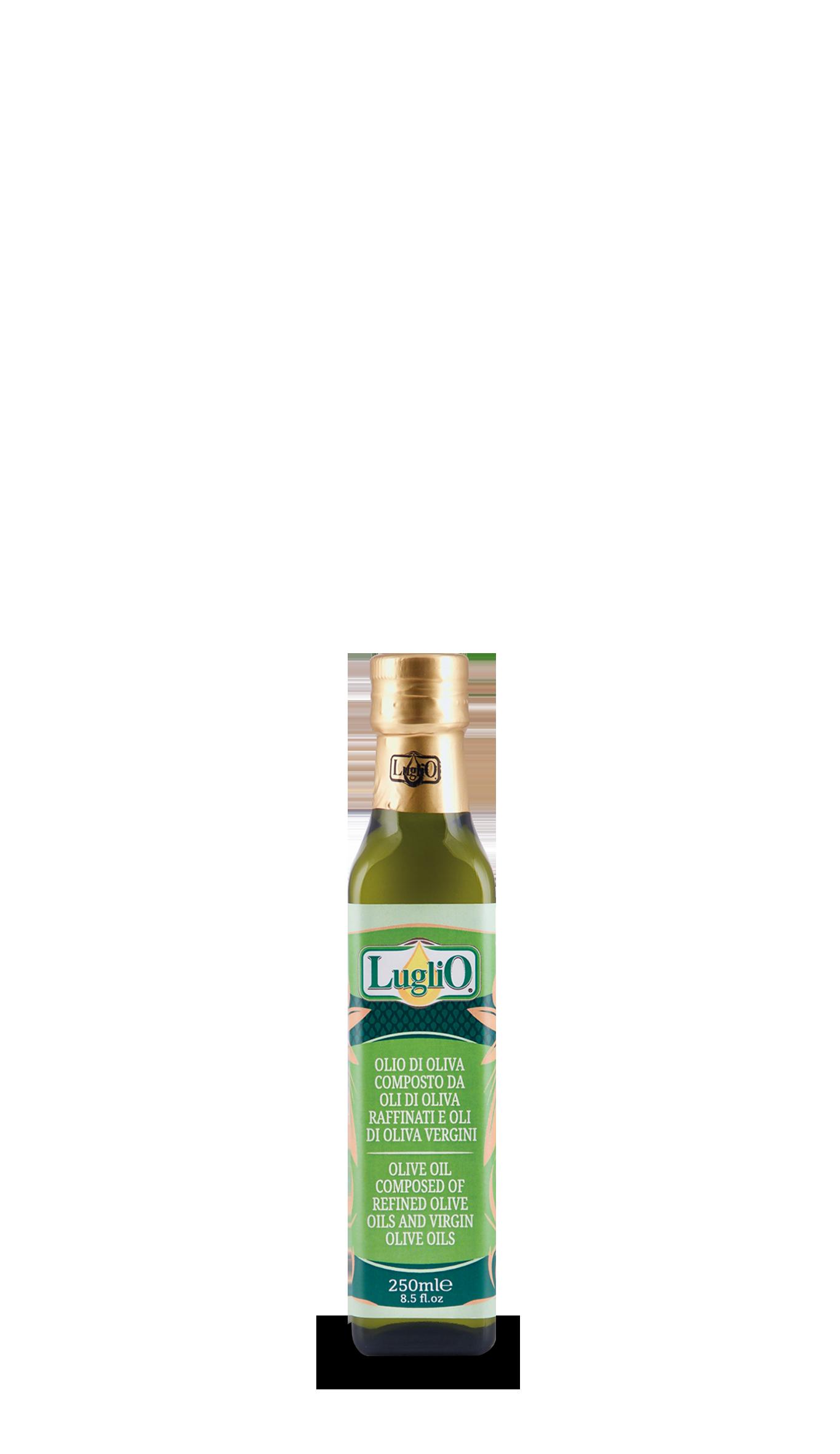 Olio Luglio olio d'oliva 250ml in bottiglia di vetro