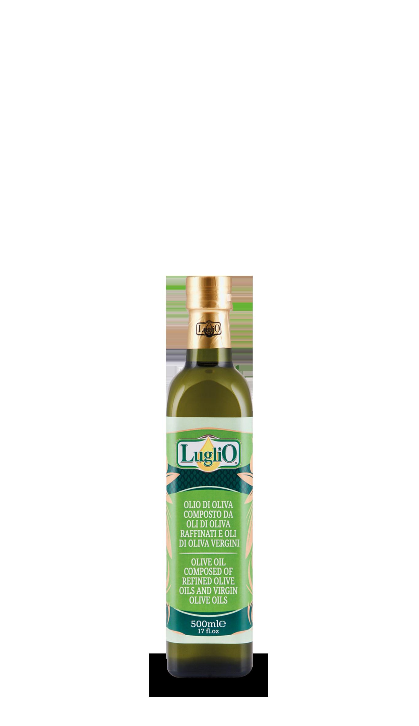 Olio Luglio olio d'oliva 500ml in bottiglia di vetro