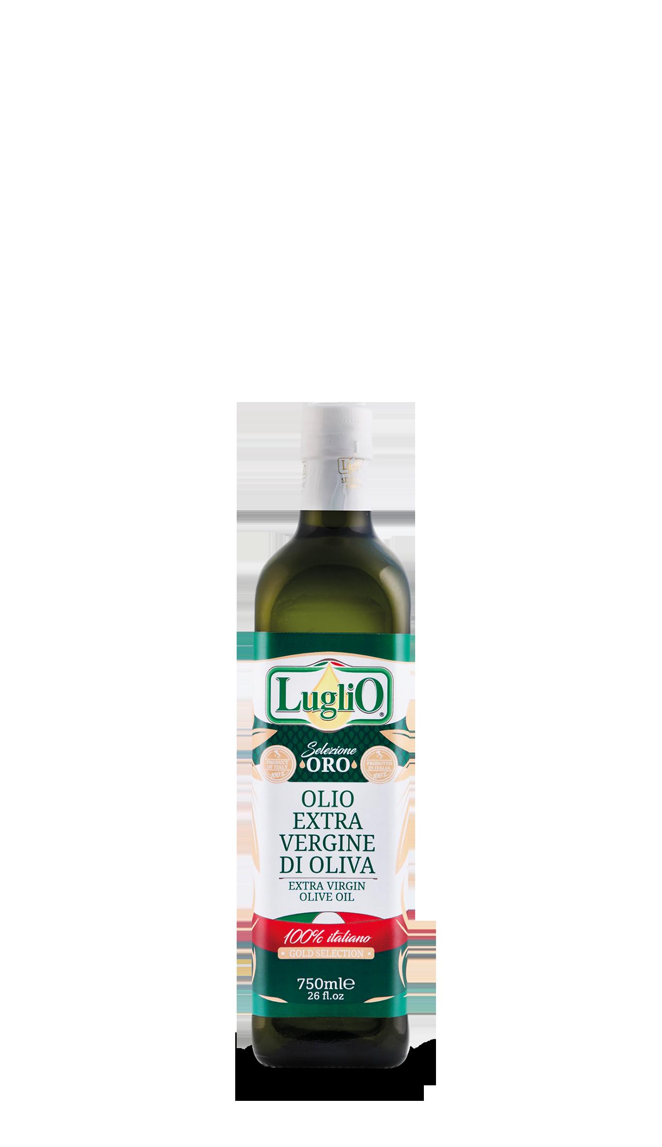Olio Luglio Selezione ORO 750ml in bottiglia di vetro