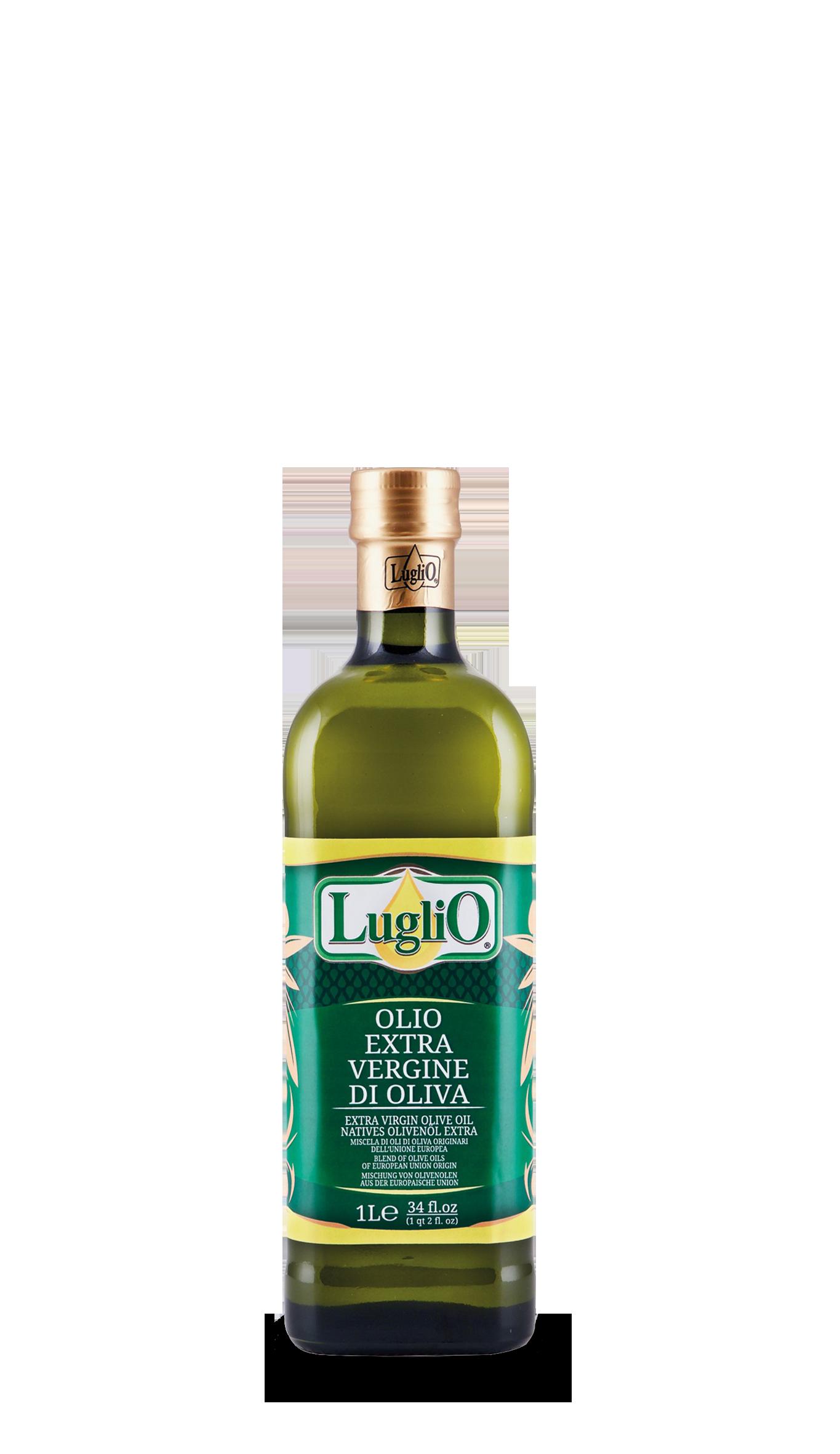 Olio luglio extra vergine comunitario 1L in bottiglia di vetro