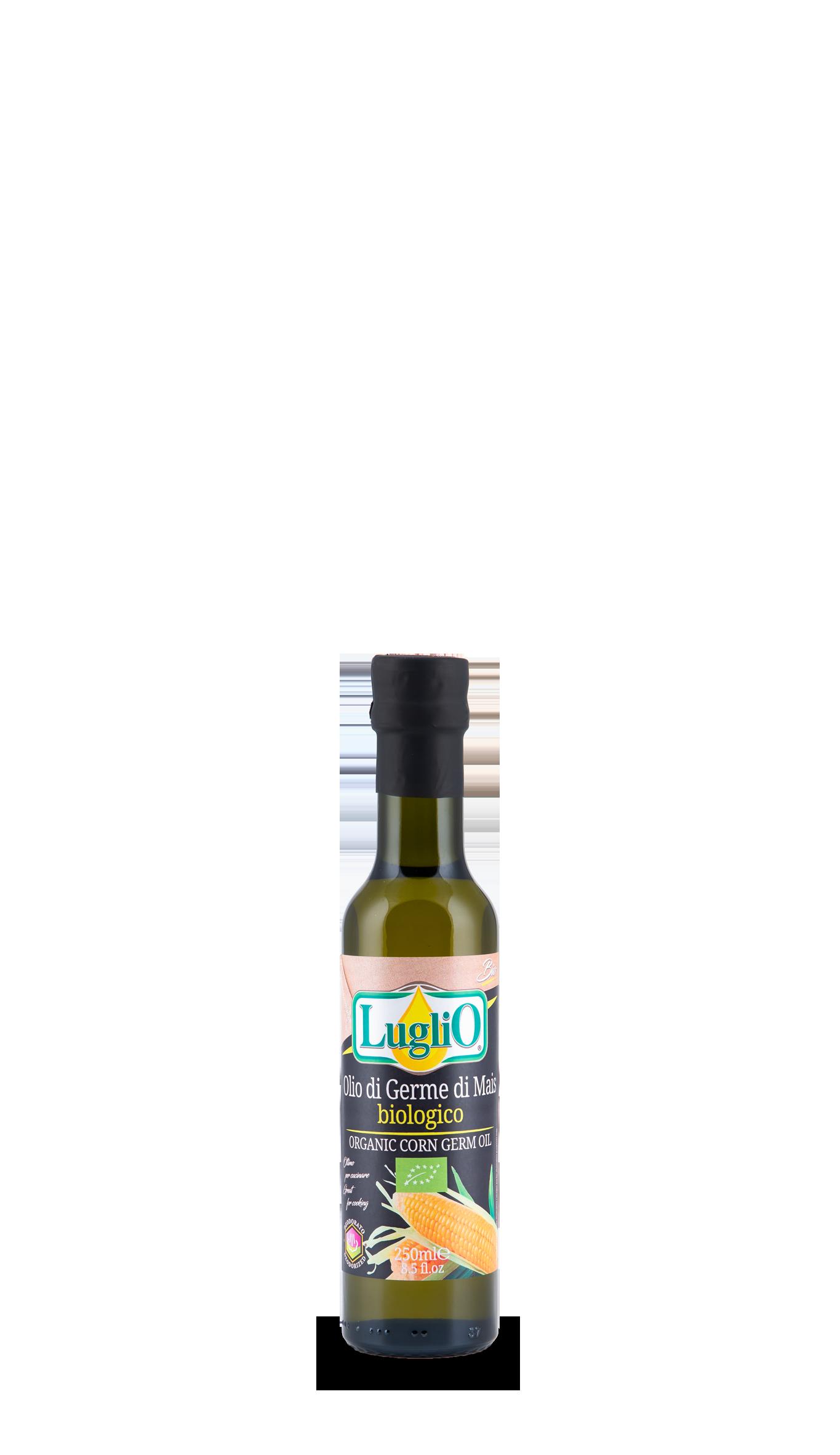 olio di germe di mais 250 ml olio luglio