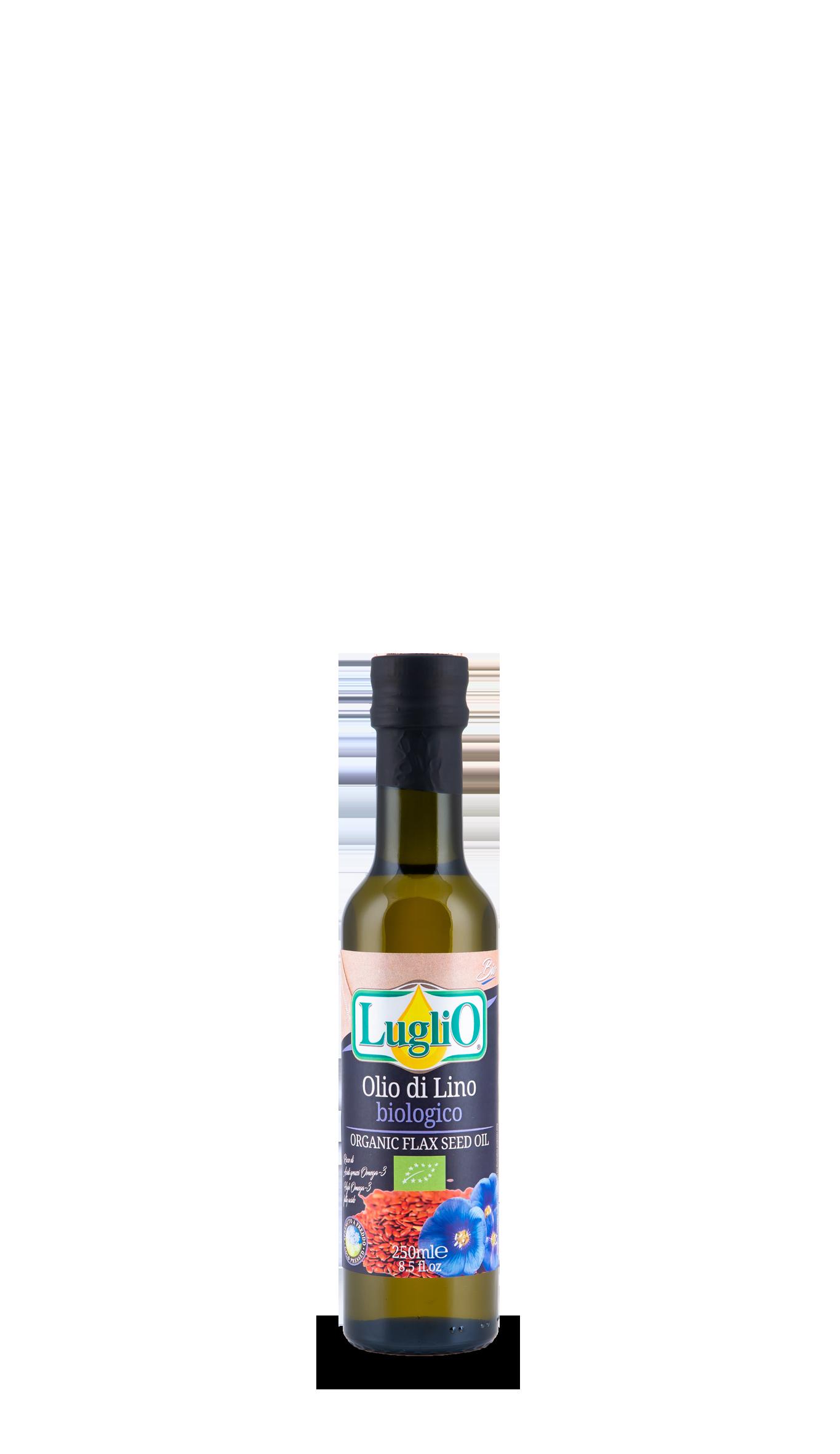 olio di lino 250 ml olio luglio