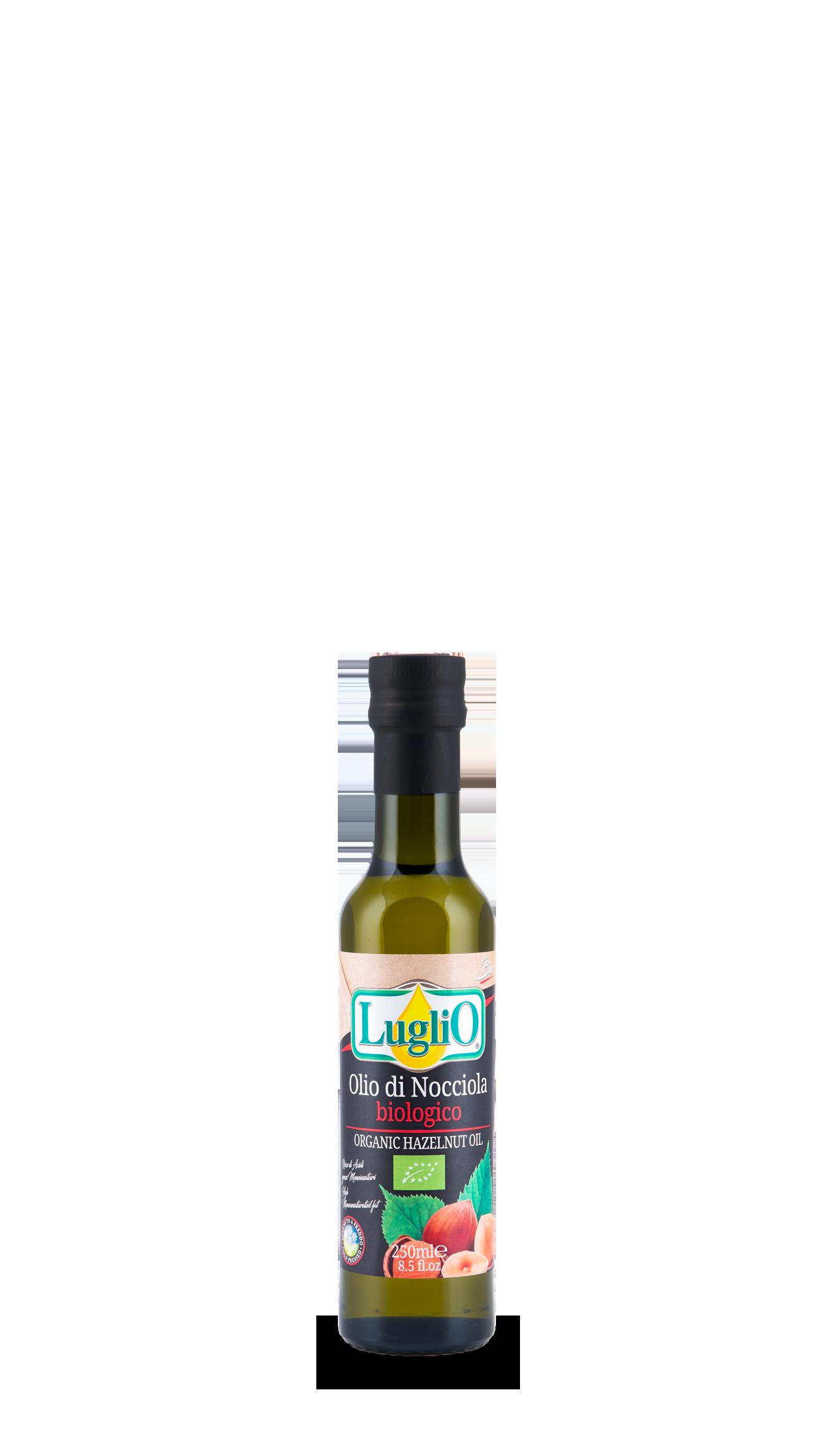 olio di nocciola 250 ml olio luglio