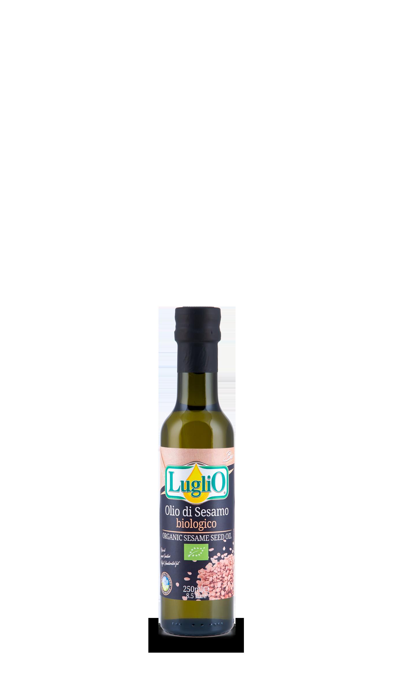 olio di sesamo 250 ml olio luglio