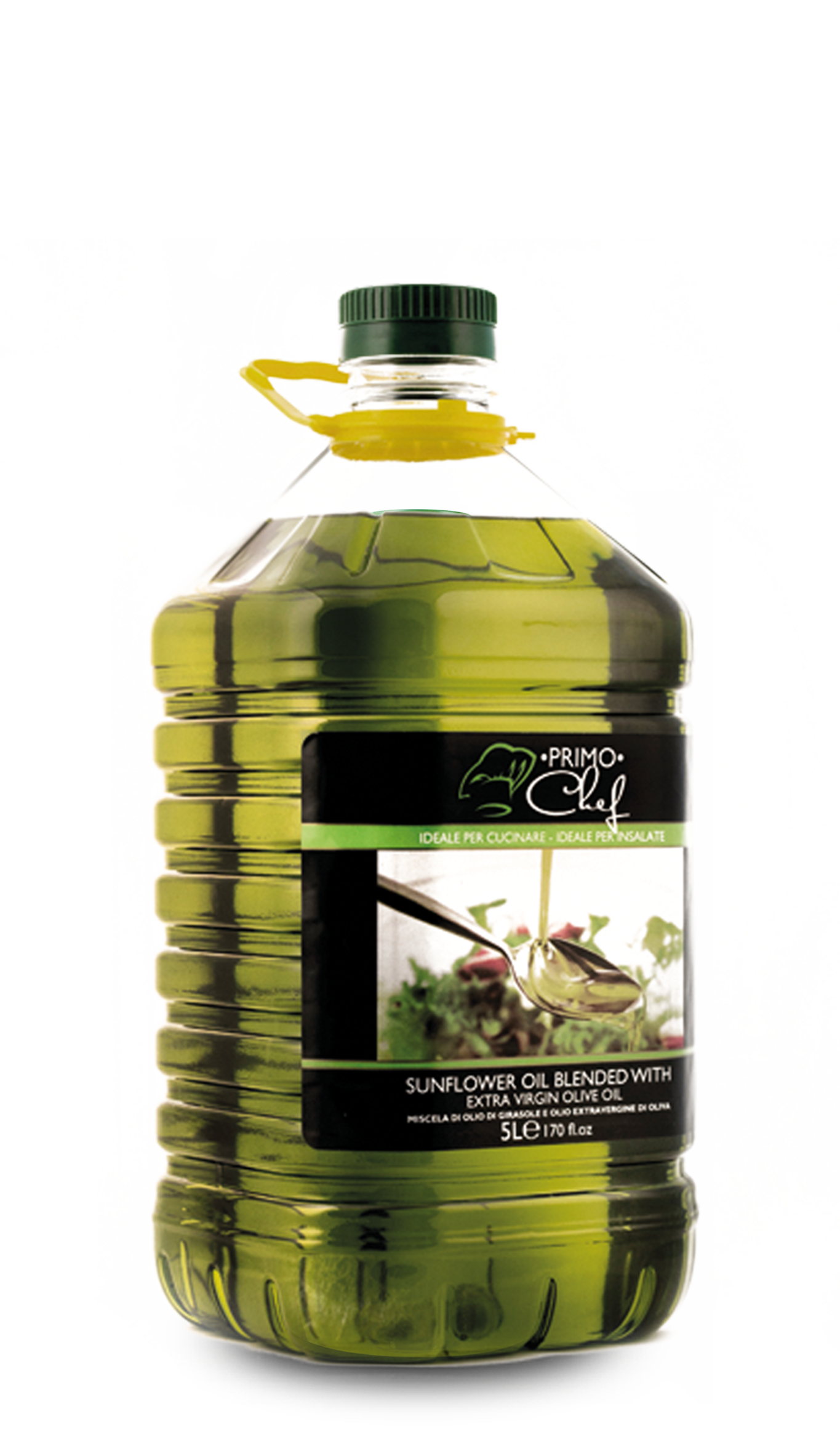 olio di girasole con olio extravergine di oliva 5L